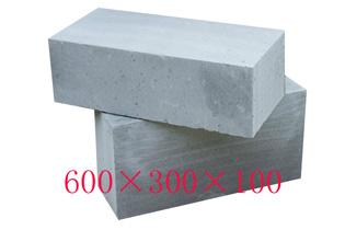 粉煤灰蒸yajia气混凝土砌块600*300*100